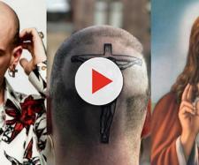 Gemitaiz ha spiegato il senso del Cristo che si è tatuato sulla nuca