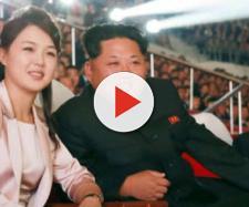 Il leader nordcoreano Kim Jong-un insieme alla moglie, Ri Sol-ju