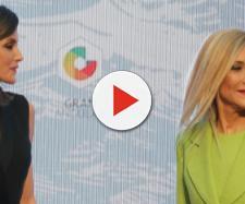 Reina Letizia y Cristina Cifuentes en imagen
