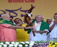 Yeddyurappa is BJP's best bet in poll-bound Karnataka (Image Credit: India tv/Youtube)