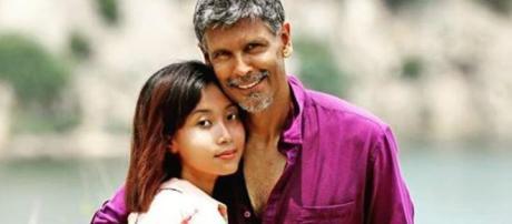 Milind Soman and Ankita Konwar (Image Credit: Anju/Instagram)