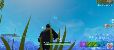 The 'comet' in 'Fortnite' - YouTube/SqwashGaming