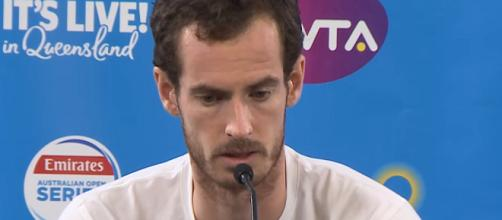 Andy Murray's comeback has risks and gambles included - [Image via Brisbane International channel/YouTube Screenshot]