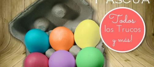 Cómo pintar huevos de Pascua de colores. ¡Muy fácil! | Manualidades - facilisimo.com