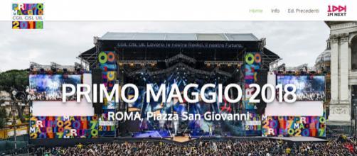Ecco i nomi dei partecipanti al concerto del Primo maggio 2018