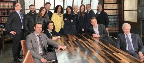 Il cast di Scandal Fonte: Instagram