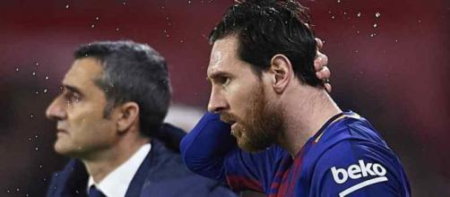Leo Messi continua sendo a estrela do time