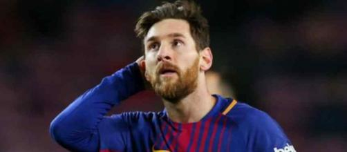 Leo Messi deixa o alerta para o amigo