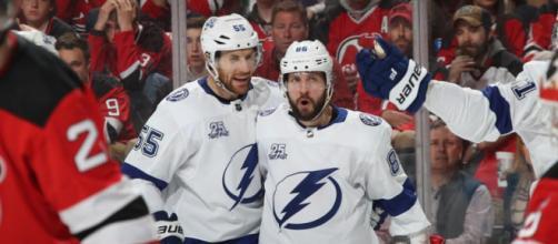 Nikita Kucherov fue la clave en el juego 4. NHL.com.