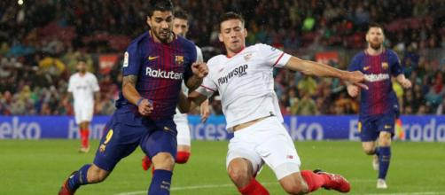 no pitado a favor del Barça por manos de Lenglet - lavanguardia.com