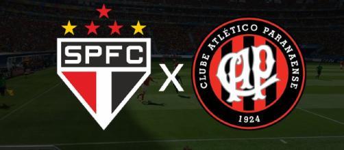São Paulo x Atlético-PR ao vivo