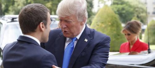 Visita de Trump a Macron en París | Internacional | EL PAÍS - elpais.com