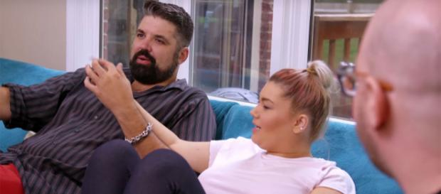 Amber Portwood and Andrew Glennon appear on 'Teen Mom OG.' [Photo via MTV/YouTube]