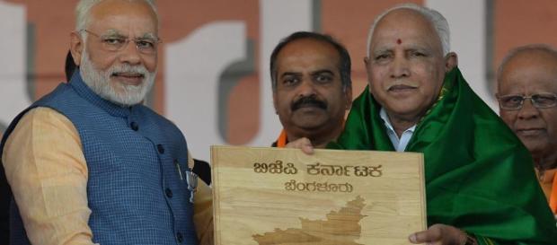 BJP's Karnataka calculation (Image via India tv)