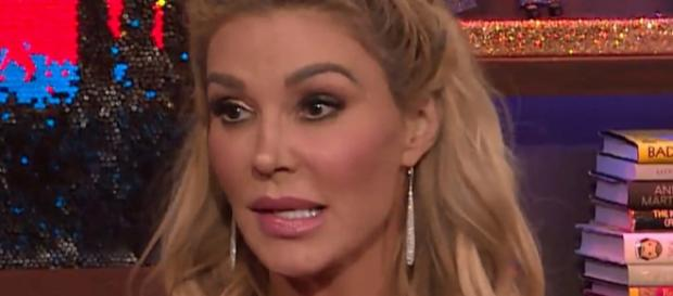 Brandi Glanville appears on an episode of 'Watch What Happens Live.' [Photo via Bravo/YouTube]