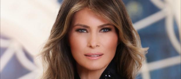 First Lady Melania Trump is criticized over clothing choice. [Image source: WH.gov]