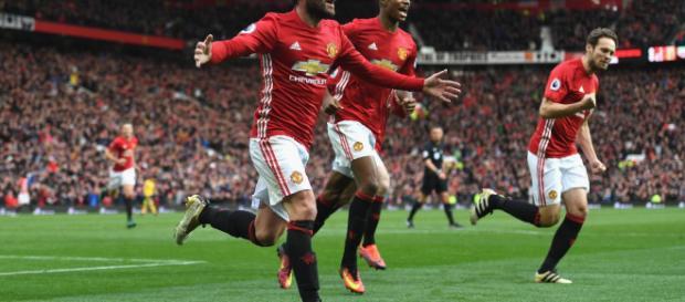 Gran victoria del Manchester United.