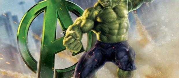 Hulk Vs Thanos en Avengers Infinity Wars.