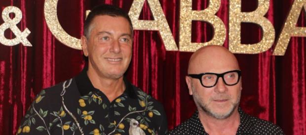 Los estilistas Domenico Dolce y Stefano Gabbana