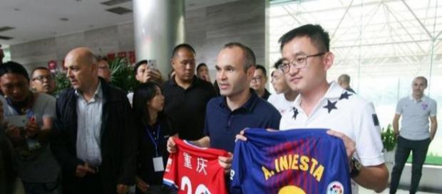 ¡El club chino que ha elegido a Iniesta para salir del Barcelona!