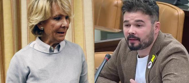 El detestable comentario de Aguirre sobre Cataluña