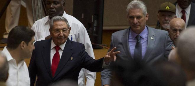 Miguel Díaz-Canel reivindica el legado de los Castro en Cuba