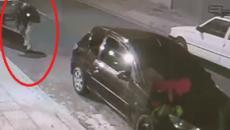 Vídeo mostra o momento que homem furta um barco parado na rua; confira