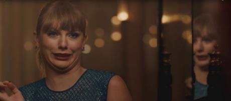 Taylor Swift video. - [Image Credit: Taylor Swift / YouTube screencap]
