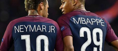 Mbappé e Neymar, dupla de ataque do PSG