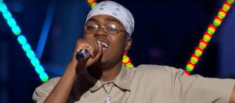 Michael J. Woodard gave a show-stopping number to close 'American Idol' in Sunday's solo rounds. Screencap American Idol/YouTube