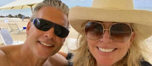 David Beador allegedly sent awful text messages to Shannon Beador after their split. [Image via Shannon Beador/Instagram]