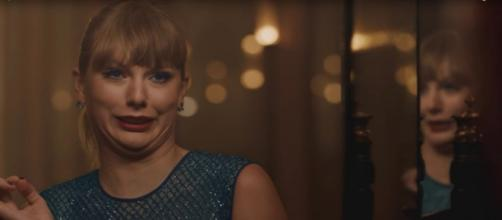 Taylor Swift video. - [Image Credit: Taylor Swift / YouTube screencap]
