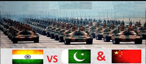 India and its neighbours Pakistan and China (Image Credit: India TV/Youtube screencap)