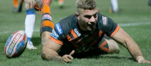 Mike McMeeken scored Castleford's only try against Wakefield in their 6-11 victory last week. Image Source - bbc.co.uk