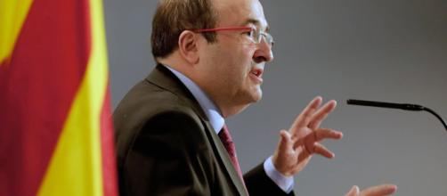 """Miquel Iceta teme de un """"enfrentamiento civil"""" si se va por la vía de la insurrección"""