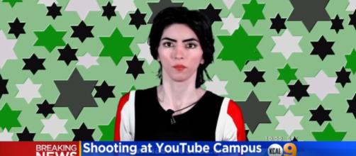 Nasim Najafi Aghdam, 38, shot three people at YouTube Headquarters in San Bruno, California. [Image source: CBSLosAngeles/YouTube]
