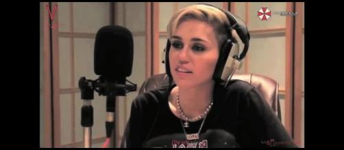 Photo of Miley Cyrus. (Image from marinodelifno / YouTube.)