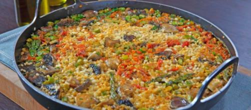 Receta de Arroz con Vegetales y Champiñones - elgourmet - elgourmet.com