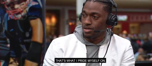 Robert Griffin III interview. - [CBS Sports / YouTube screencap]