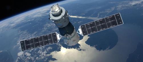 Una estación espacial chocó contra la tierra