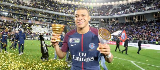 Kylian M'Bappé l'homme du match de la finale de la coupe de la Ligue