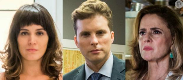''O Outro Lado do Paraíso'': Patrick reprova briga de Clara e Sophia