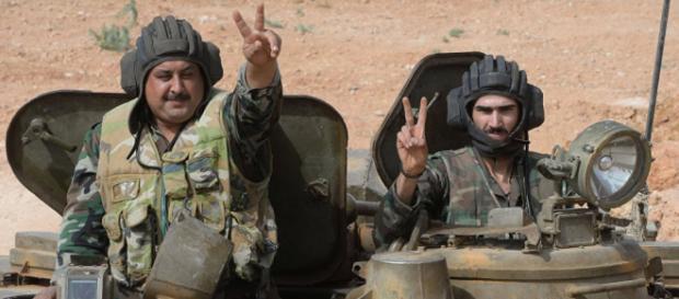 Syryjscy żołnierze być może już wkrótce odzyskają swój kraj (fot. wordpress.com)