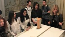 L'Istituto Giorgi di Lucca in visita alla mostra 'Il Naso e la Storia'