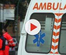 Ambulanza con personale del 118