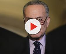 Chuck Schumer wants to decriminalize marijuana. [Image via Politico/YouTube]