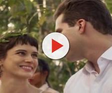 Clara se casa com Patrick no último capítulo de O Outro Lado do Paraíso (Foto: TV Globo)