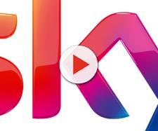 Il logo ufficiale di Sky, pay tv di Murdoch