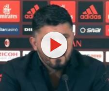 Milan, Gattuso in conferenza stampa