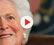 President Donald Trump will not attend Former First Lady Barbara Bush's funeral [Người Việt Daily News/YouTube screenshot]